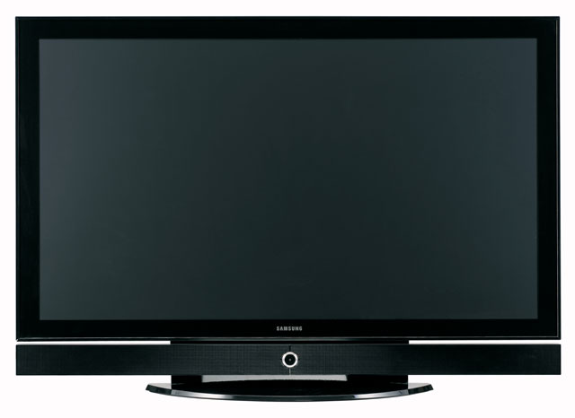 50 inch plasma samsung demo.